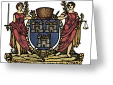 Dublin Coat Of Arms Greeting Card