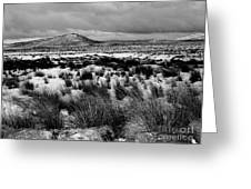 Dublin Mountains In Winter Ireland Greeting Card by Jo Collins
