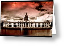 Dublin - The Custom House Greeting Card