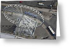 Dublins Big Wheel, Dublin Greeting Card