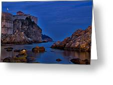 Dubrovnik Bay Greeting Card