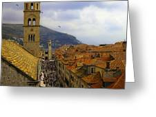 Dubrovnik - Old City Greeting Card