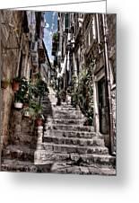 Dubrovnik Streets 6 Greeting Card