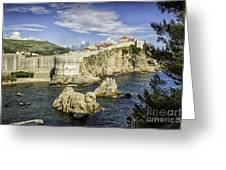 Dubrovnik Walled City Greeting Card