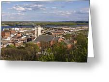 Dubuque Iowa Greeting Card