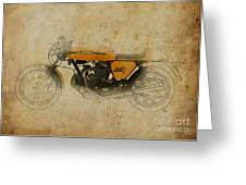 Ducati 750 Sport 1973 Greeting Card by Pablo Franchi