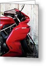 Ducati Greeting Card