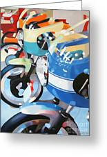 Ducati Line Greeting Card