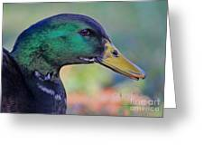 Duck Personality Greeting Card