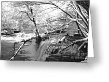 Duck River At Old Stone Fort Greeting Card