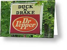 Duckter Pepper Greeting Card