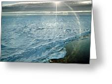 Due South 1.30am Ross Sea Greeting Card