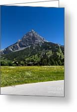 Duendenhorn Mountain Greeting Card
