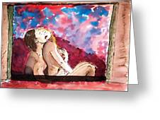 Duet Passion. Greeting Card