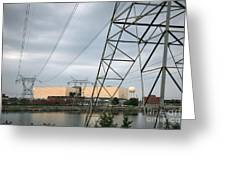 Duke Energy Mcguire Nuclear Energy Station Greeting Card