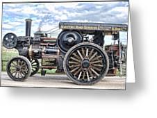 Duke Of York Traction Engine 4 Greeting Card