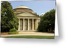 Duke University Baldwin Auditorium Greeting Card