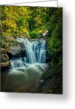 Dukes Creek Falls Greeting Card
