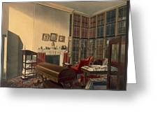 Dukes Own Room, Apsley House, By T. Boys Greeting Card