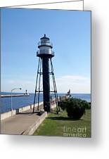 Duluth Mn Lighthouses  Greeting Card