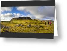 Dun Aengus - Ancient Irish History Greeting Card