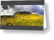 Dun Aonghasa - Iron Age Irish Ruins Greeting Card by Mark E Tisdale