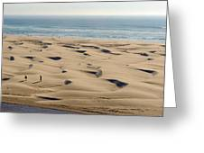 Dune Beach Greeting Card
