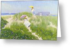 Nantucket Dune Pass  Greeting Card