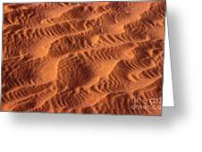 Dune Patterns - 241 Greeting Card by Paul W Faust -  Impressions of Light