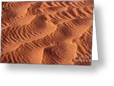 Dune Patterns - 242 Greeting Card by Paul W Faust -  Impressions of Light