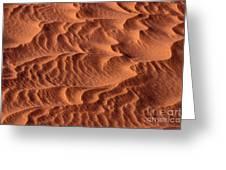 Dune Patterns - 246 Greeting Card