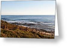 Dune Steps 01 Greeting Card