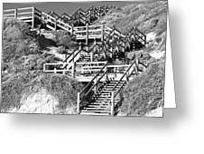 Dune Steps 02 Greeting Card