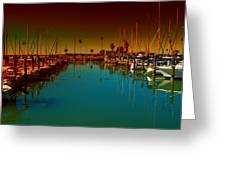 Dunedin Marina Greeting Card