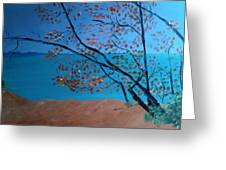 Lake Michigan Dunes Greeting Card