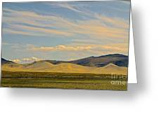 Dunes In Nevada  Greeting Card