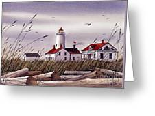 Dungeness Lighthouse Greeting Card