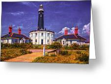 Dungeness Old Lighthouse Greeting Card