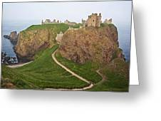 Dunnottar Castle Scotland Greeting Card