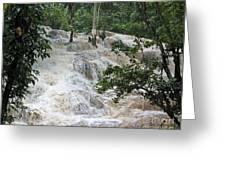 Dunns River Falls 2 Greeting Card