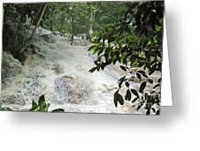 Dunns River Falls 3 Greeting Card