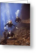 Dunraven Divers Greeting Card