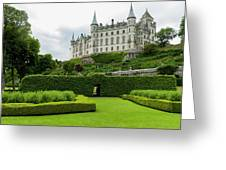 Dunrobin Castle  Golspie, Scotland Greeting Card