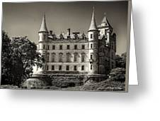 Dunrobin Castle Scotland Greeting Card