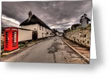 Dunsford Village Greeting Card