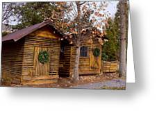 Dunwoody Farmhouse Cabins Greeting Card
