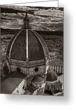 Duomo Dalla Campanile  Greeting Card