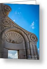 Duomo Detail Greeting Card