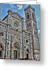 Duomo Di Firenze Greeting Card