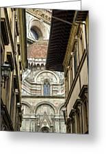 Duomo In Firenze Greeting Card